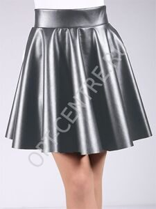 Circle skirt leather 01