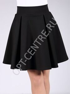 Pleat mini skirt  01
